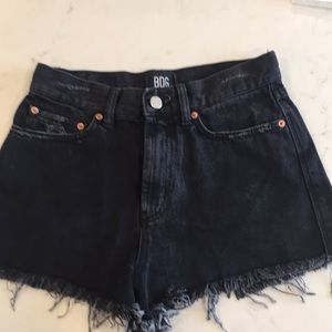 Urban Outfitters BDG size 27 black shorts